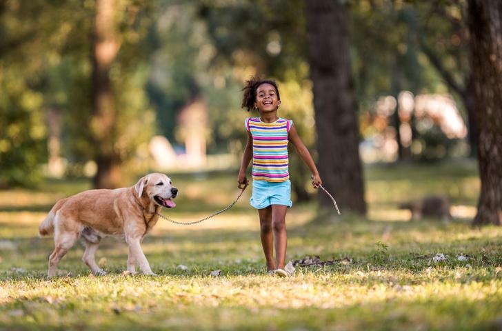 Små barn och hundar